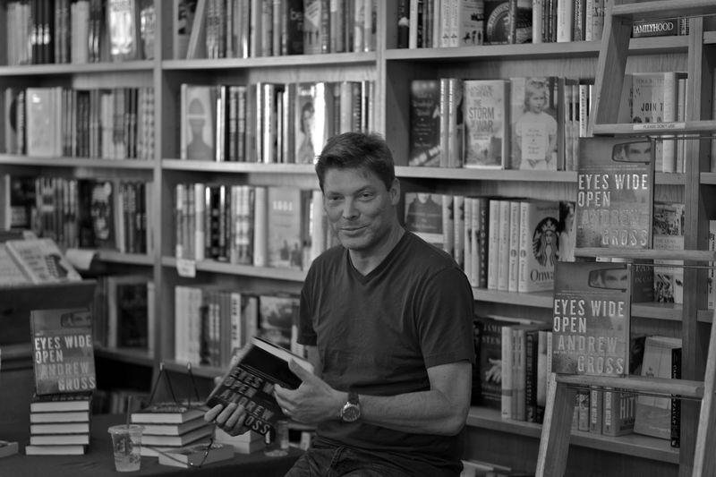 Andrew Gross at BookHampton-1