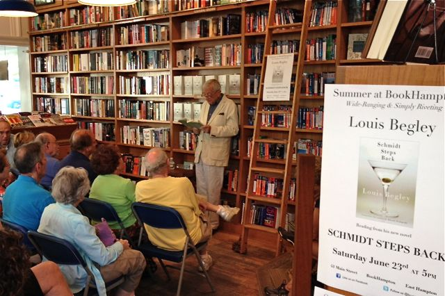 Louis Begley at BookHampton 1