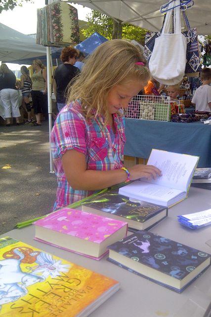 Street Fair at BookHampton 1