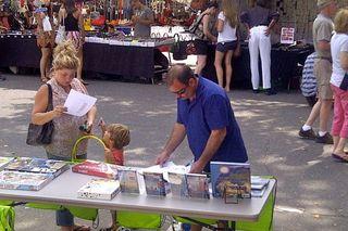Street Fair at BookHampton 2