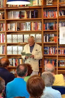 Louis Begley at BookHampton 2