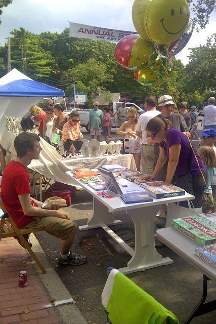 Street Fair at BookHampton 4