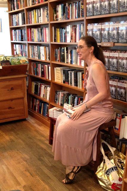 Gail Levin at BookHampton 1