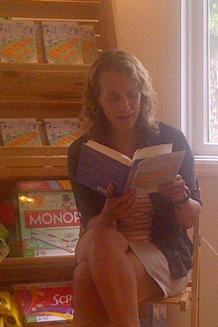 Amy Sohn at BookHampton