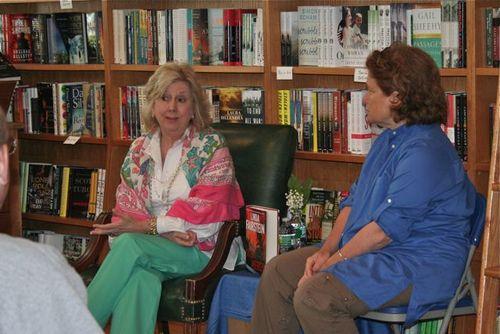 Linda Fairstein and Charline Spektor