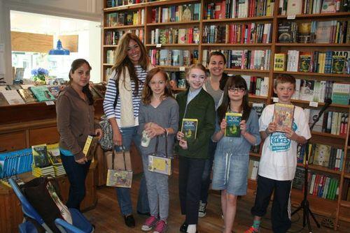 Kelly Killoren Bensimon and the Nancy Drew Marathoners